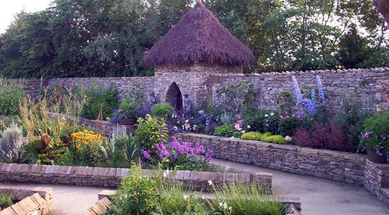 The Herb Garden at The Forbidden Corner