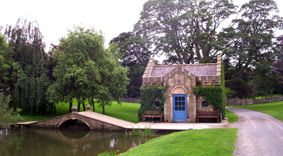 The Fish Temple at Tupgill Park