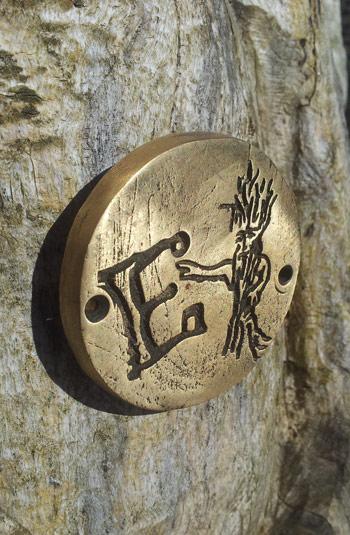 Brass Coin Rubbings