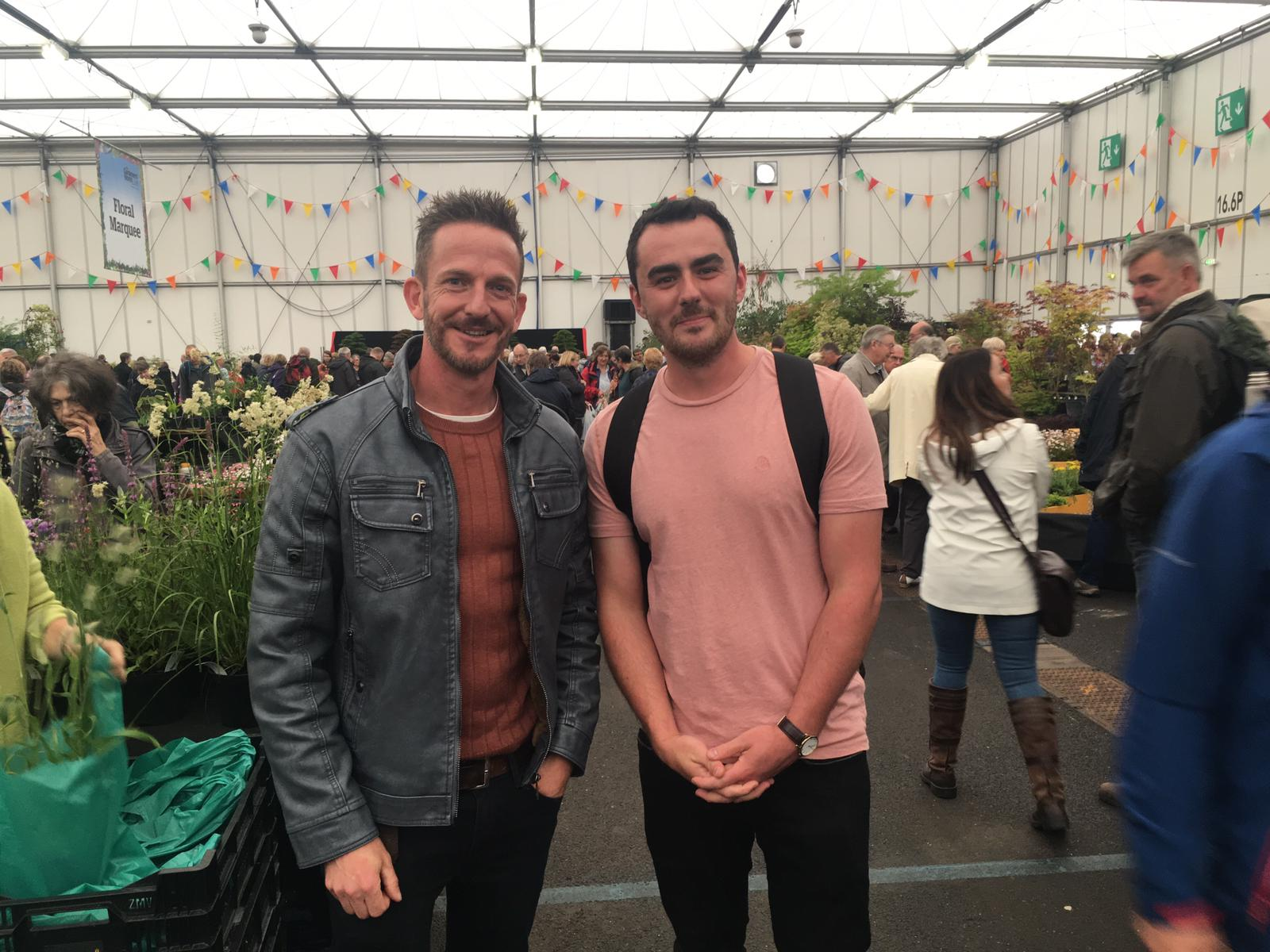 Tom and Nick Bailey